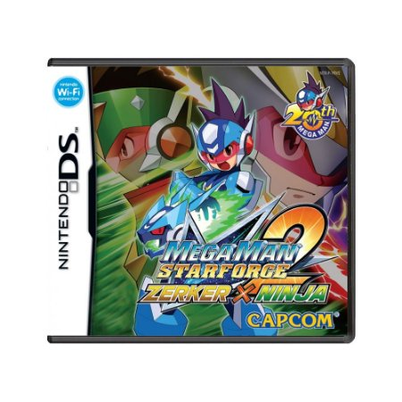 Jogo Mega Man Star Force 2: Zerker x Ninja - DS