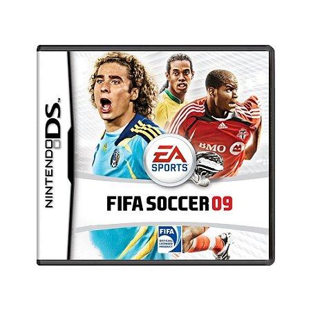 Jogo FIFA Soccer 09 - DS