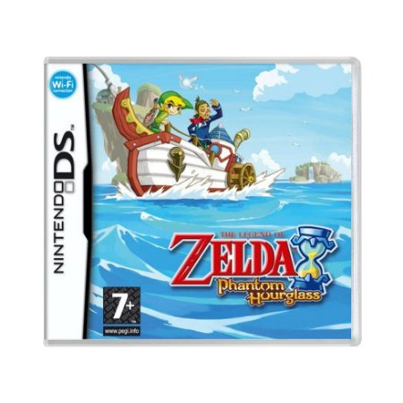 Jogo The Legend of Zelda: Phantom Hourglass - DS (Europeu)
