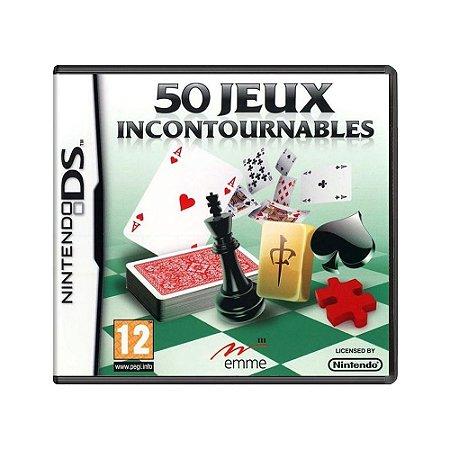 Jogo 50 Jeux Incotournables - DS (Europeu)