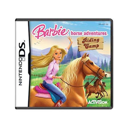 Jogo Barbie Horse Adventures: Riding Gamp - DS