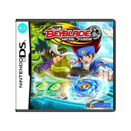 Jogo Beyblade: Metal Fusion - DS
