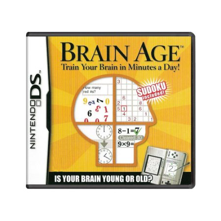Jogo Brain Age: Train your Brain in Minutes a Day - DS