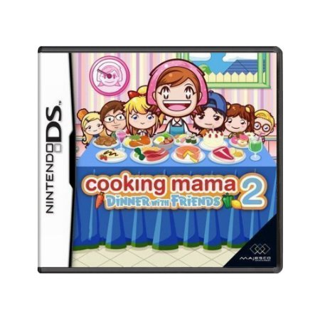 Jogo Cooking Mama 2: Dinner With Friends - DS