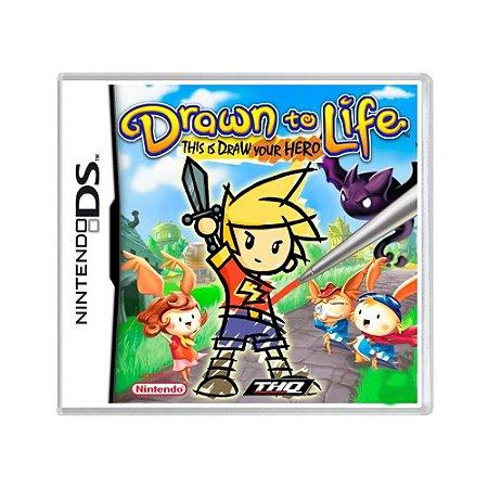 Jogo Drawn to Life - DS