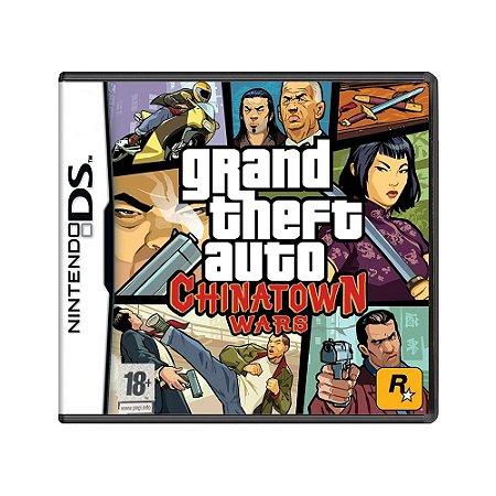 Jogo Grand Theft Auto: Chinatown Wars - DS [Europeu]