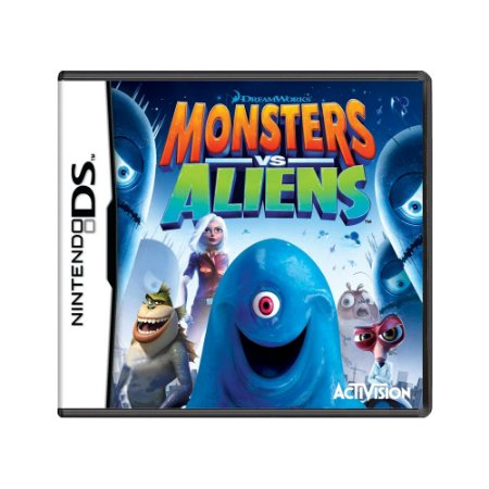 Jogo Monsters Vs Aliens - DS (Europeu)