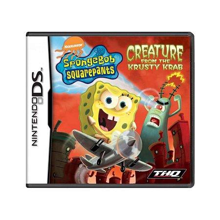 Jogo Spongebob Squarepants: Creature from the Krusty Krab - DS