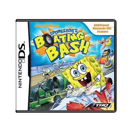 Jogo Spongebob's: Boating Bash - DS