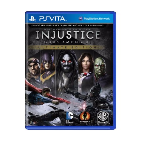 Jogo Injustice: Gods Among Us - PS Vita