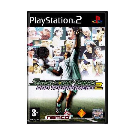 Jogo Smash Court Tennis Pro Tournament 2 - PS2 (Europeu)