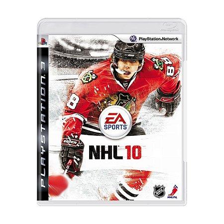 Jogo NHL 10 - PS3