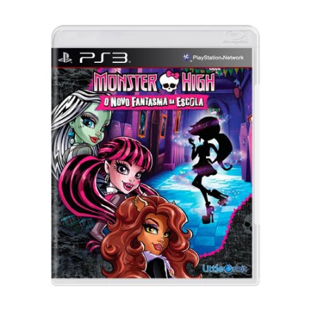 Jogo Monster High: O Novo Fantasma da Escola - PS3