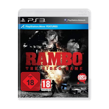 Jogo Rambo: The Video Game - PS3