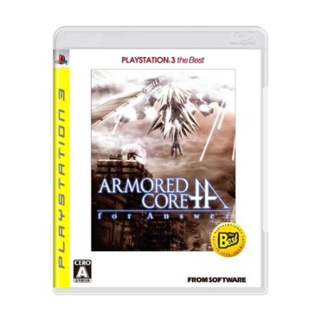 Jogo Armored Core: For Answer - PS3 (Japonês)