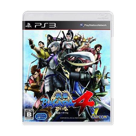 Jogo Sengoku Basara 4 - PS3 [Japonês]
