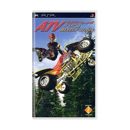 Jogo ATV Offroad Fury: Blazin' Trails - PSP
