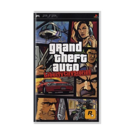 Jogo Grand Theft Auto: Liberty City Stories - PSP
