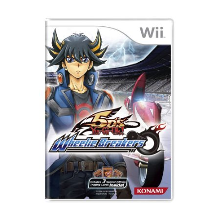 Jogo Yu-gi-oh! 5ds Wheelie Breakers - Wii