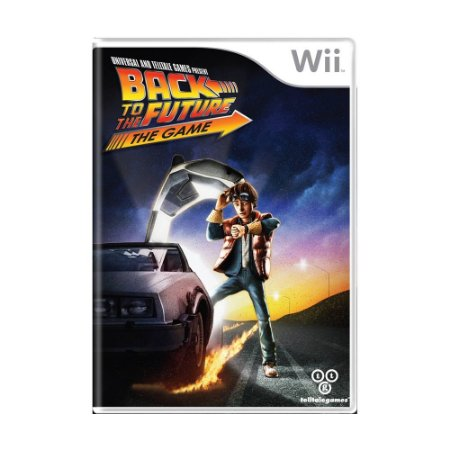 Jogo Back to the Future: The Game - Wii