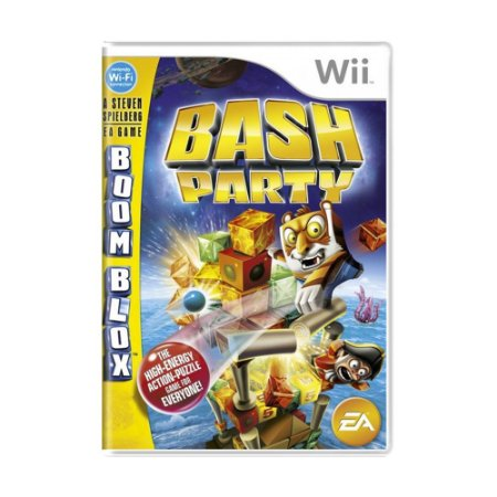 Jogo Boom Blox Bash Party - Wii