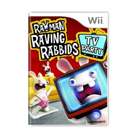 Jogo Rayman Raving Rabbids TV Party - Wii