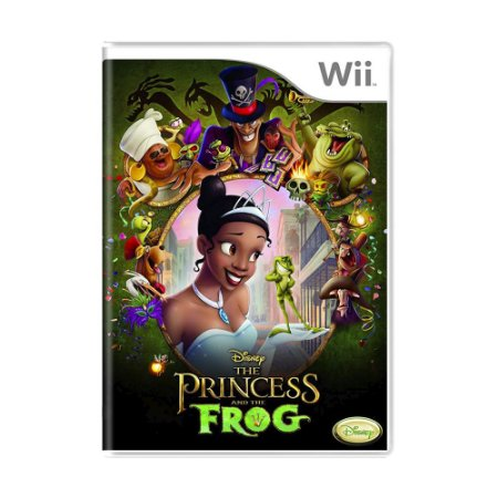 Jogo Disney's The Princess and the Frog - Wii