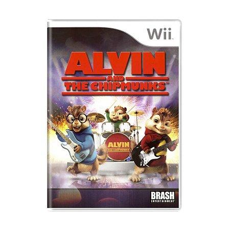 Jogo Alvin and The Chipmunks - Wii