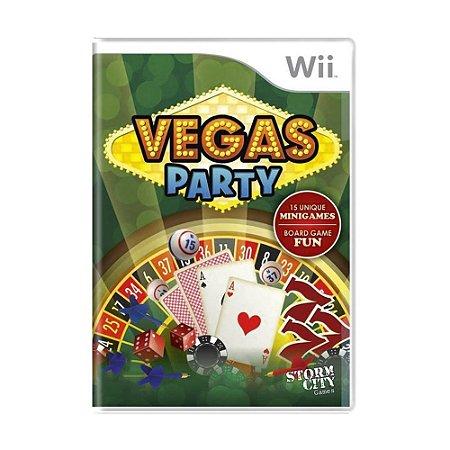 Jogo Vegas Party - Wii