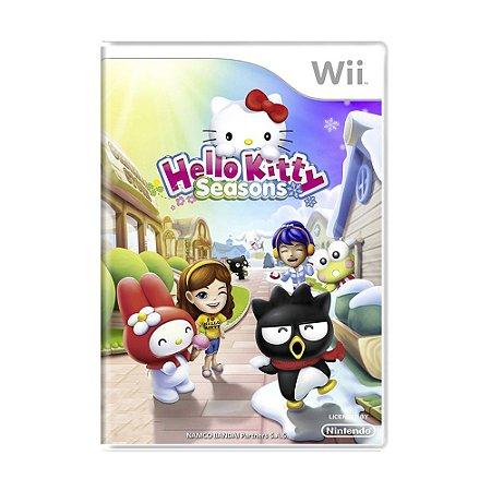 Jogo Hello Kitty Seasons - Wii