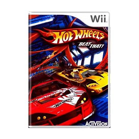 Jogo Hot Wheels: Beat That! - Wii