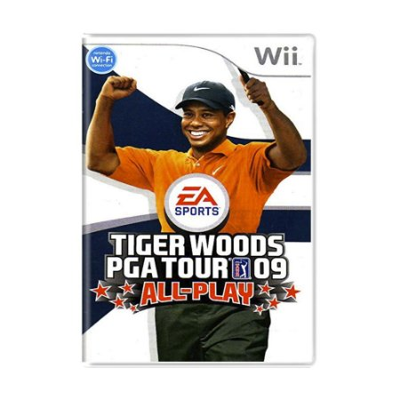 Jogo Tiger Woods PGA Tour 09 All-Play - Wii