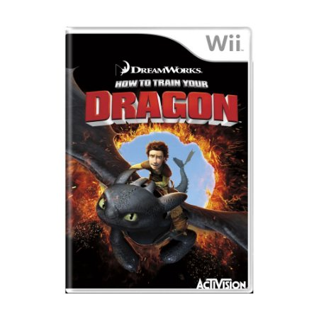 Jogo How to Train Your Dragon - Wii