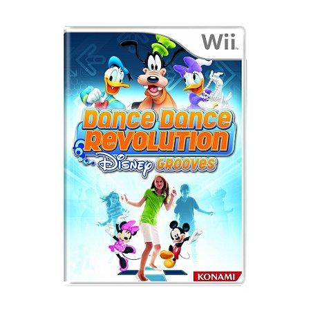Jogo Dance Dance Revolution: Disney Grooves - Wii