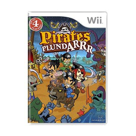 Jogo Pirates Plundarrr - Wii