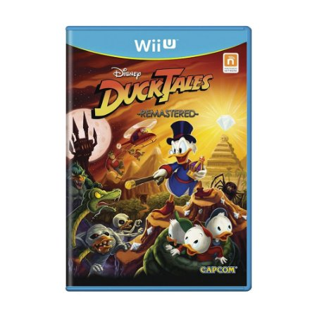 Jogo Ducktales Remastered - Wii U