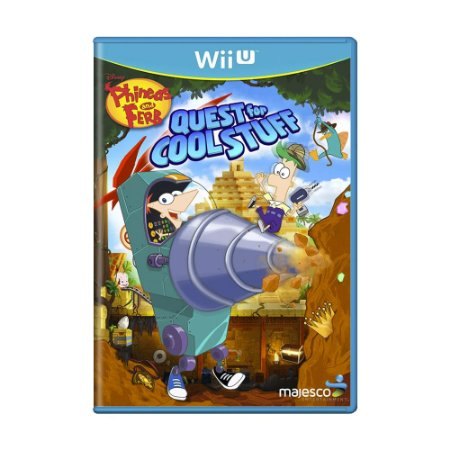 Jogo Phineas and Ferb: Quest for Cool Stuff - Wii U