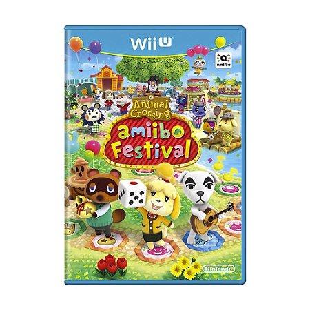 Jogo Animal Crossing: Amiibo Festival - Wii U