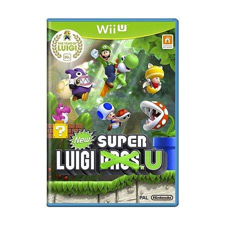 Jogo New Super Luigi U - Wii U