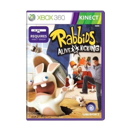 Jogo Raving Rabbids: Alive & Kicking - Xbox 360