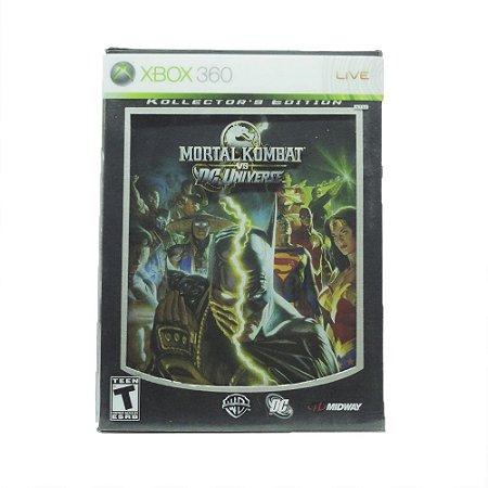 Jogo Mortal Kombat Vs DC Universe (Kollector's Edition) - Xbox 360