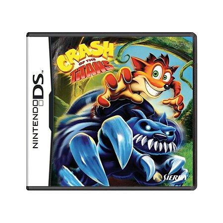 Jogo Crash of the Titans - DS