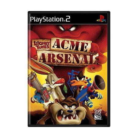 Jogo Looney Tunes: Acme Arsenal - PS2