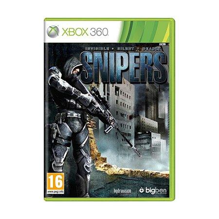 Jogo Snipers - Xbox 360 [Europeu]