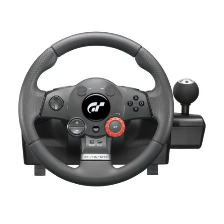 Volante Logitech Driving Force GT - PS3 e PC (Sem Pedal)