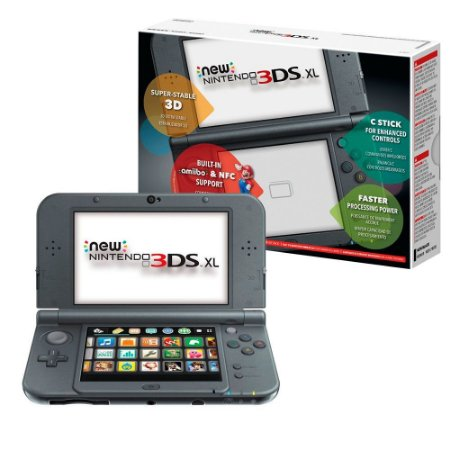 Console Nintendo New 3DS XL New Black - Nintendo - MeuGameUsado on
