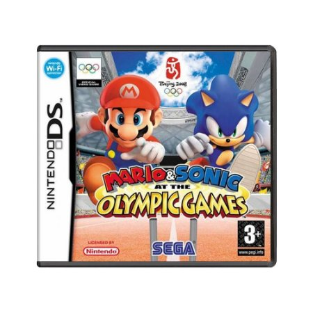 Jogo Mario & Sonic At The Olympic Games - DS (Europeu)