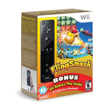 Jogo Fling Smash (Bonus) - Wii