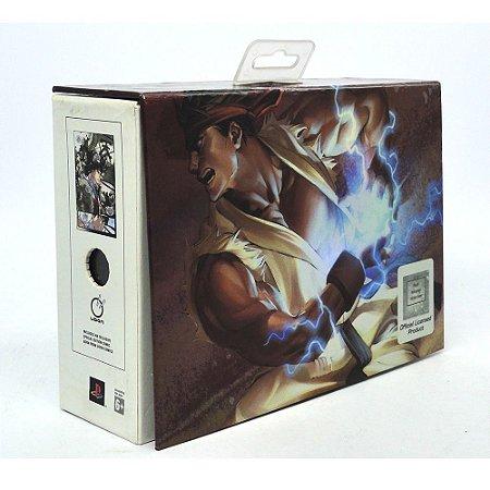 Controle DualShock 2 (Edição Comemorativa Street Fighter 20 anos RYU) - PS2