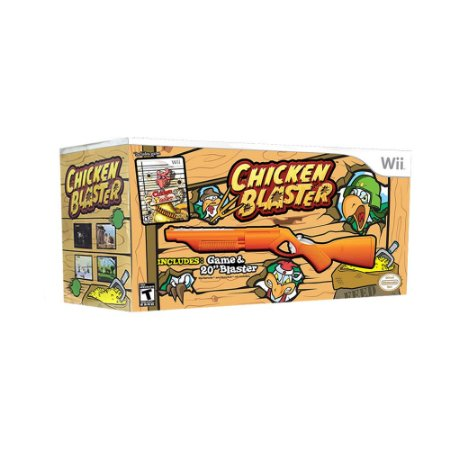 Jogo Chicken Blaster (Hunting Bundle) - Wii